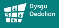 Dysgu Oedolion Logo